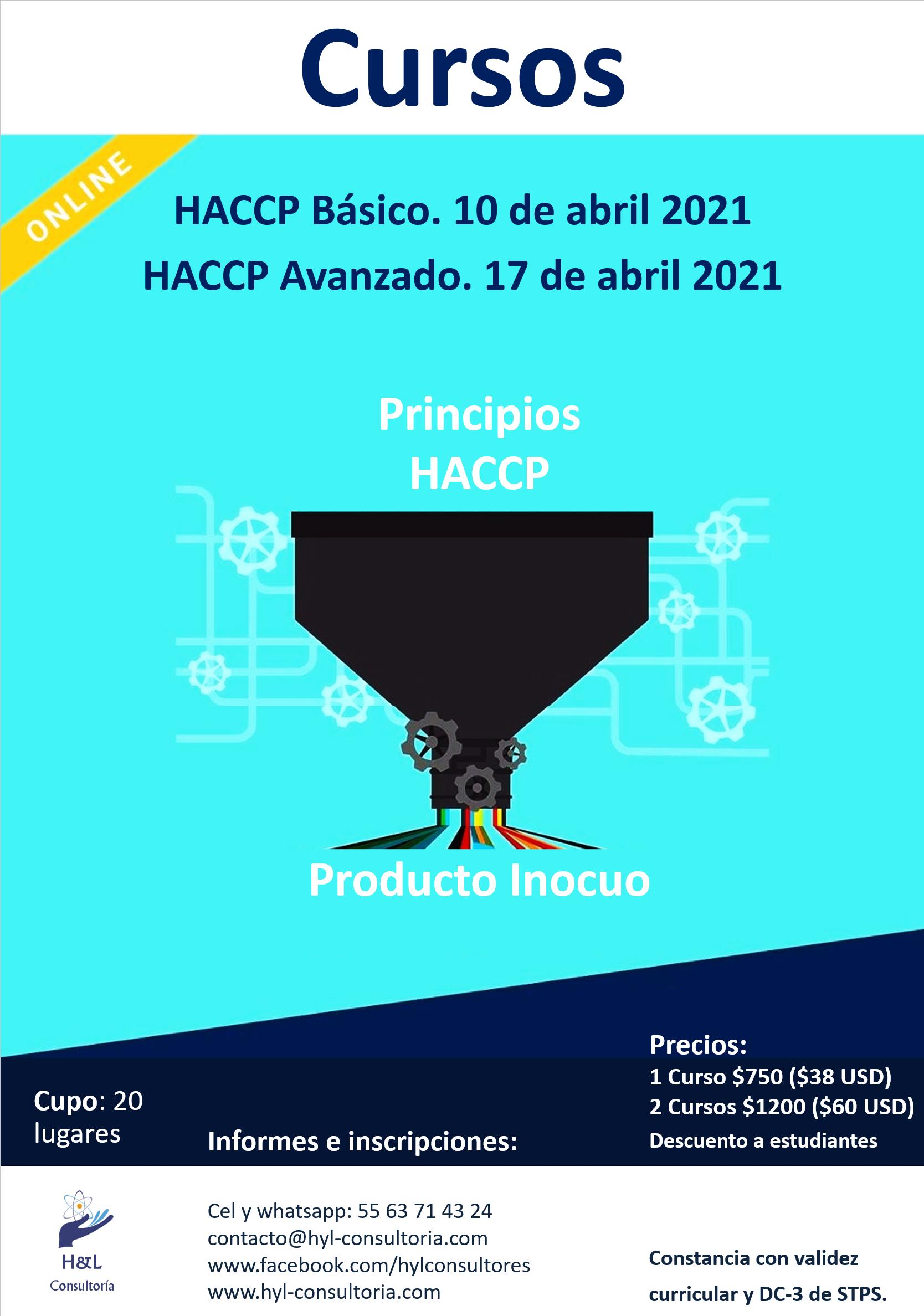 HACCP para la Industria de Alimentos.